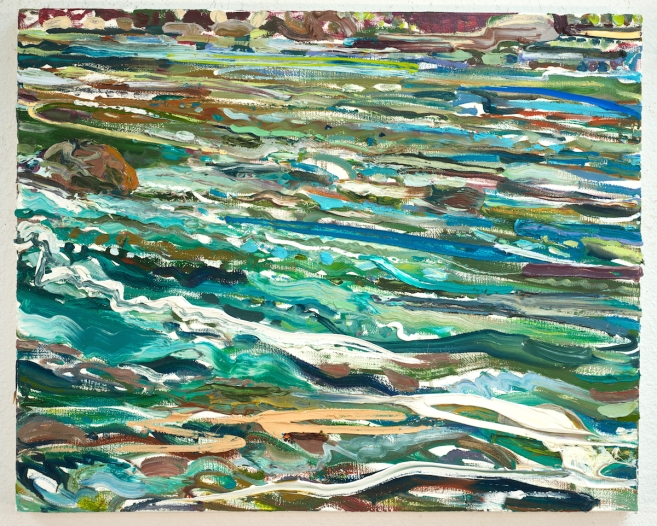 White Waters 24x30